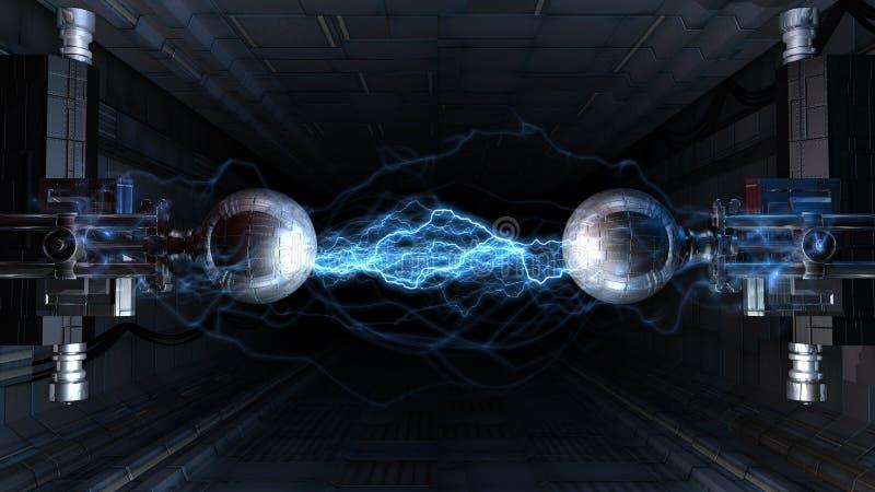 bågelkraft vektor illustrationer