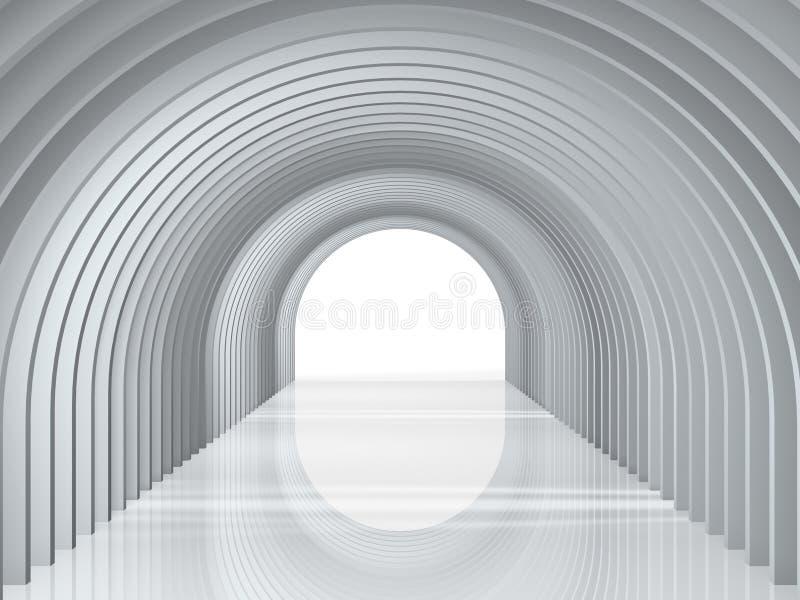 Bågtunnel royaltyfri foto
