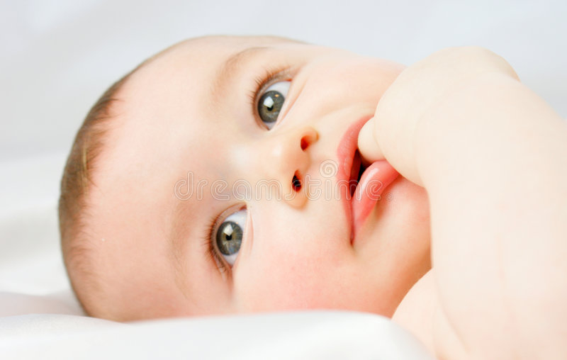 Bébé photo stock