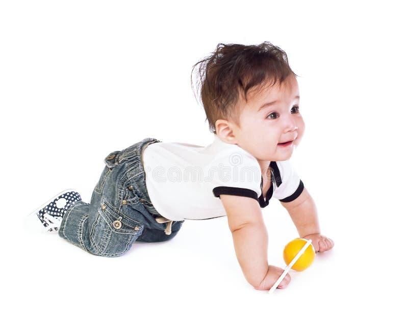 Bébé asiatique photo libre de droits