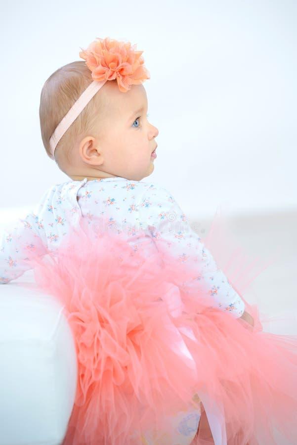 Bébé déguisé par portrait images libres de droits