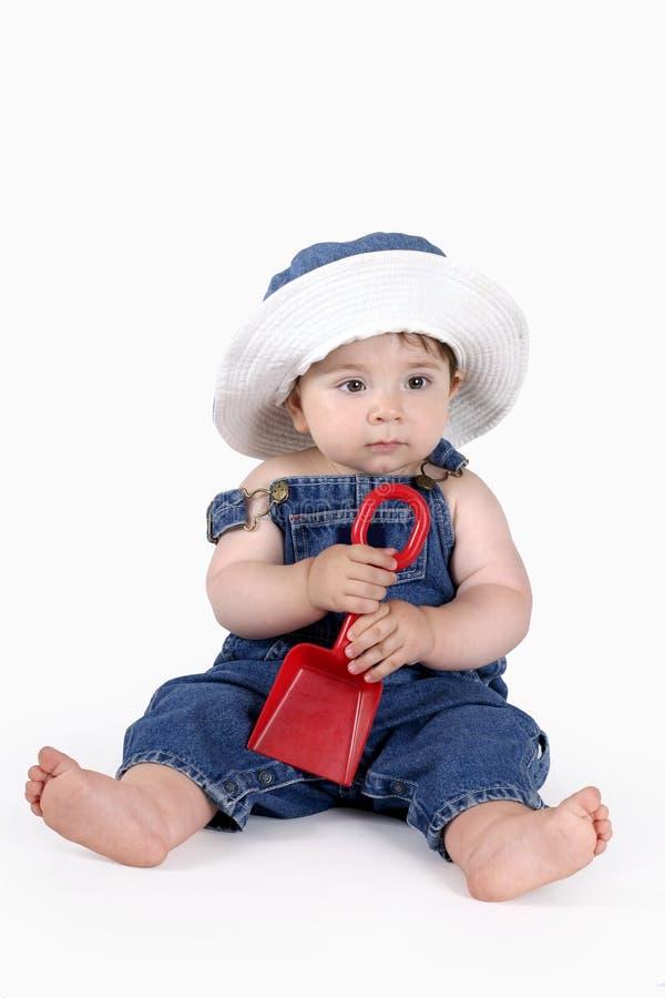 Bébé d'été image libre de droits