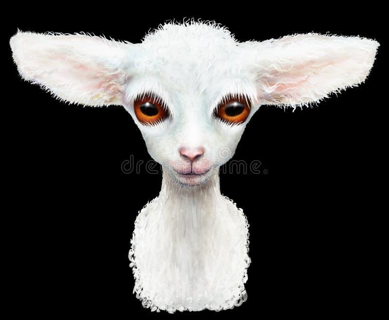 Bébé d'animal d'agneau illustration libre de droits