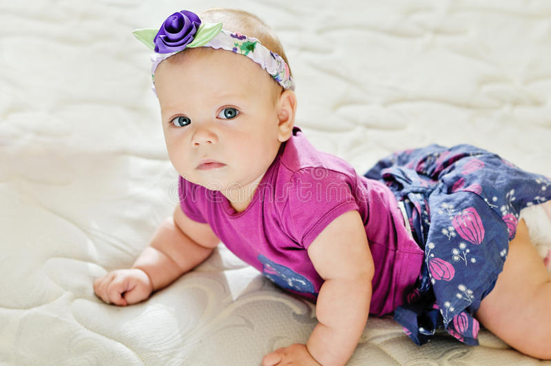 Bébé de mode photos libres de droits