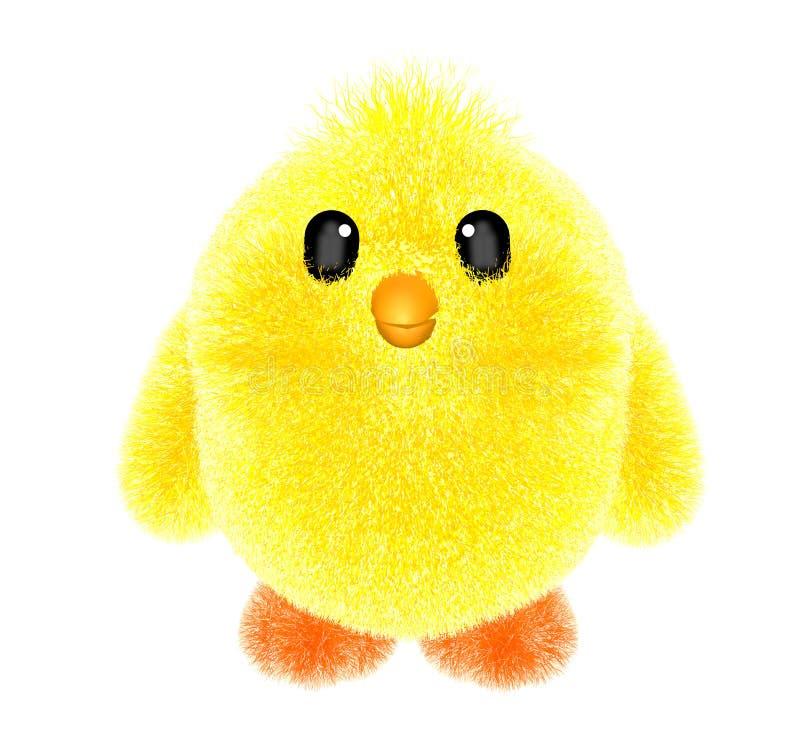 Bébé de poulet de jouet petit images stock