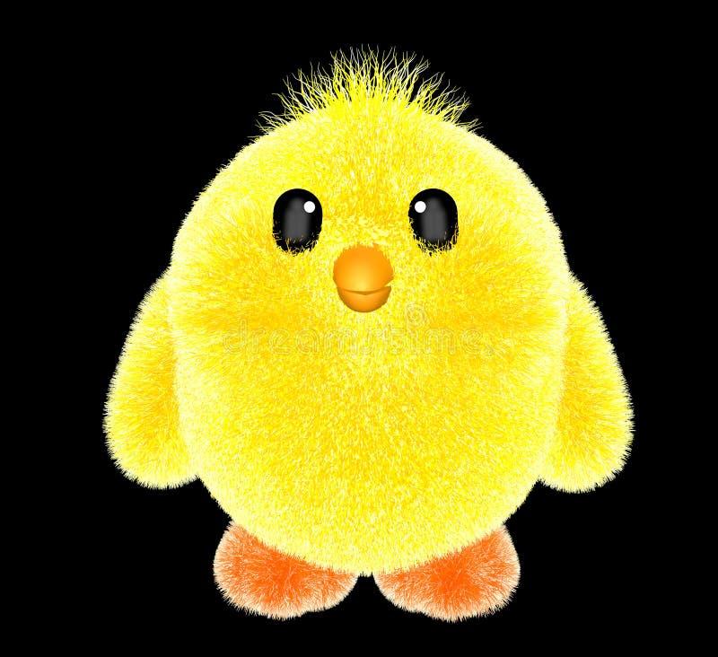 Bébé de poulet de jouet petit photographie stock