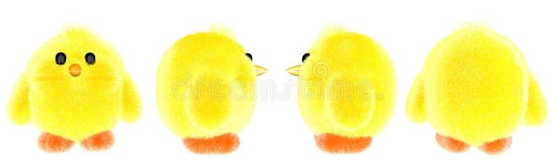 Bébé de poulet de jouet petit photos libres de droits