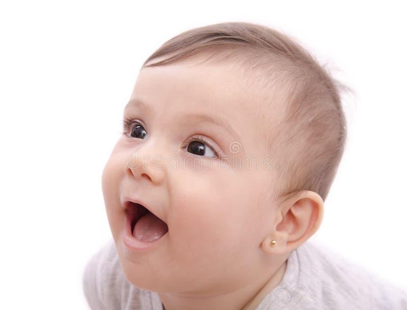 Bébé de sourire mignon photos stock