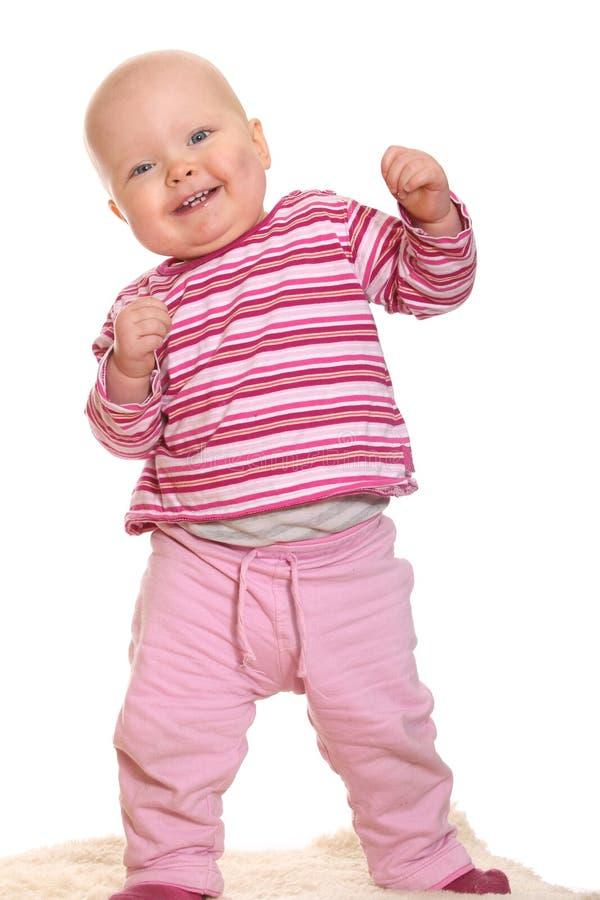 Bébé drôle photographie stock