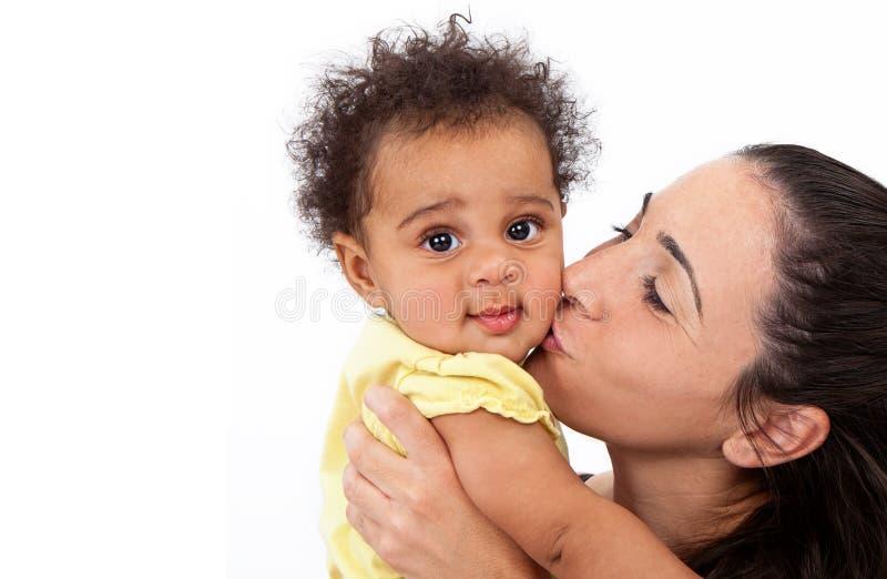Bébé et maman photo libre de droits