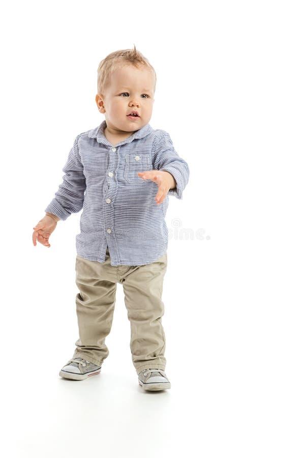 Bébé garçon photographie stock libre de droits