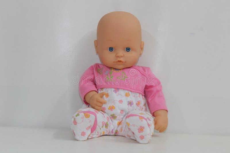 Bébé - jouets de poupée pour des enfants image libre de droits