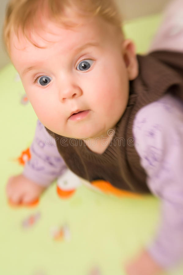 Bébé mignon photos stock