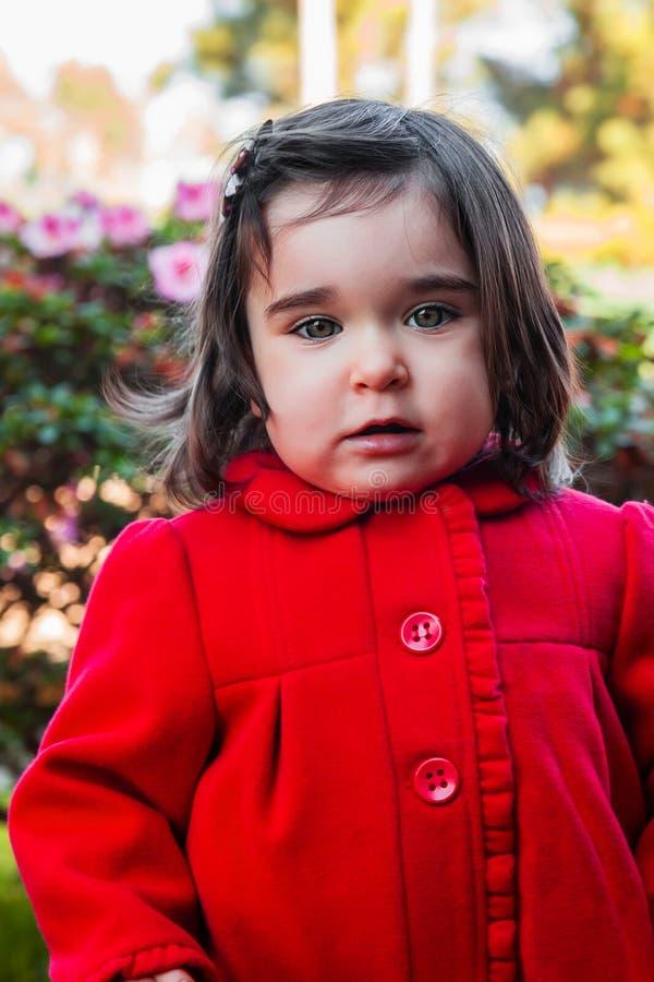 Bébé mignon, joli, heureux, souriant d'enfant en bas âge photos libres de droits