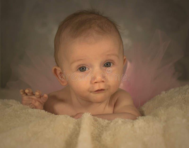 Bébé semblant effronté photo libre de droits
