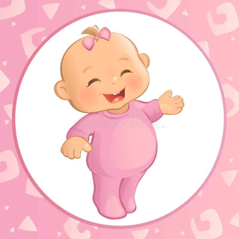 Bébé (vecteur) illustration de vecteur