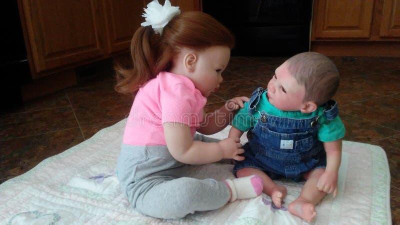 Bébés renés photographie stock libre de droits