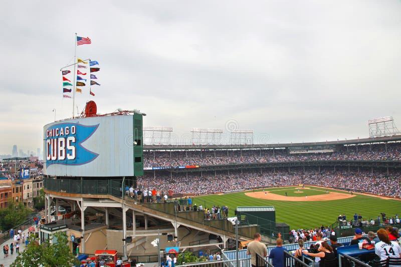 Béisbol de Chicago imágenes de archivo libres de regalías