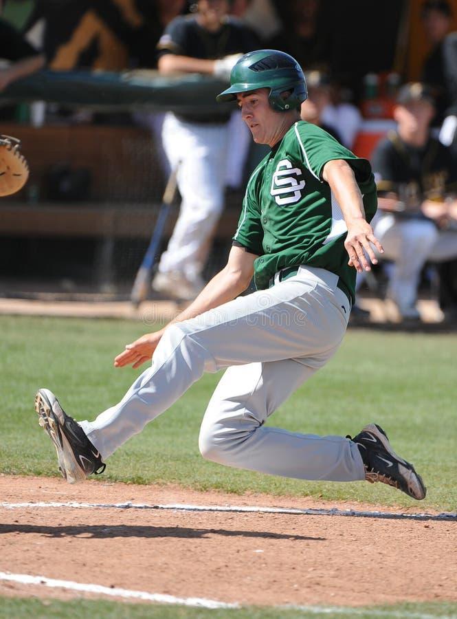 Béisbol de la High School secundaria foto de archivo libre de regalías