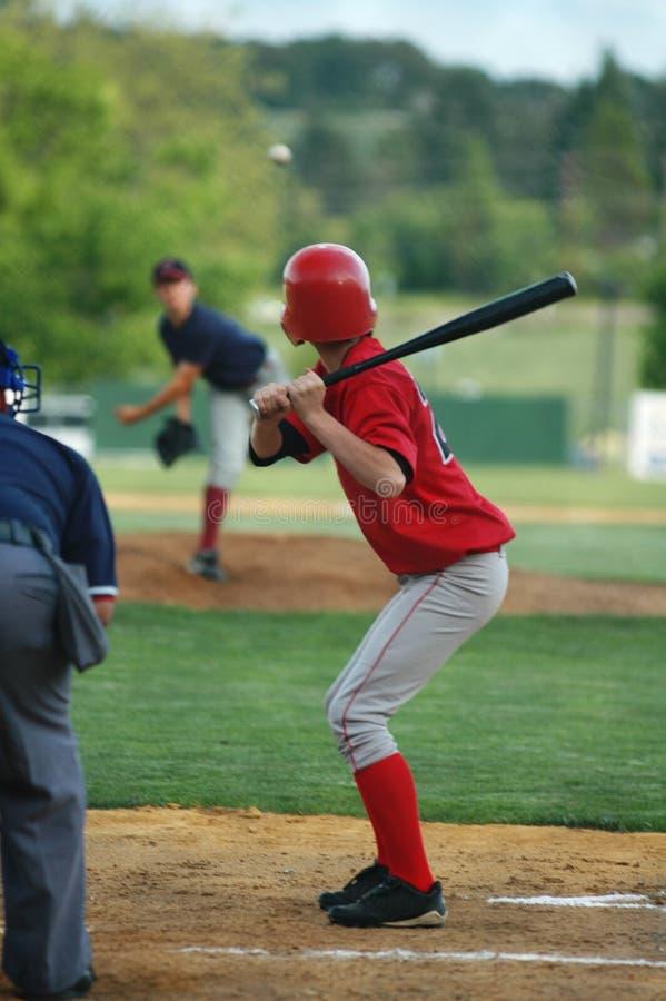 Béisbol de la juventud fotos de archivo libres de regalías