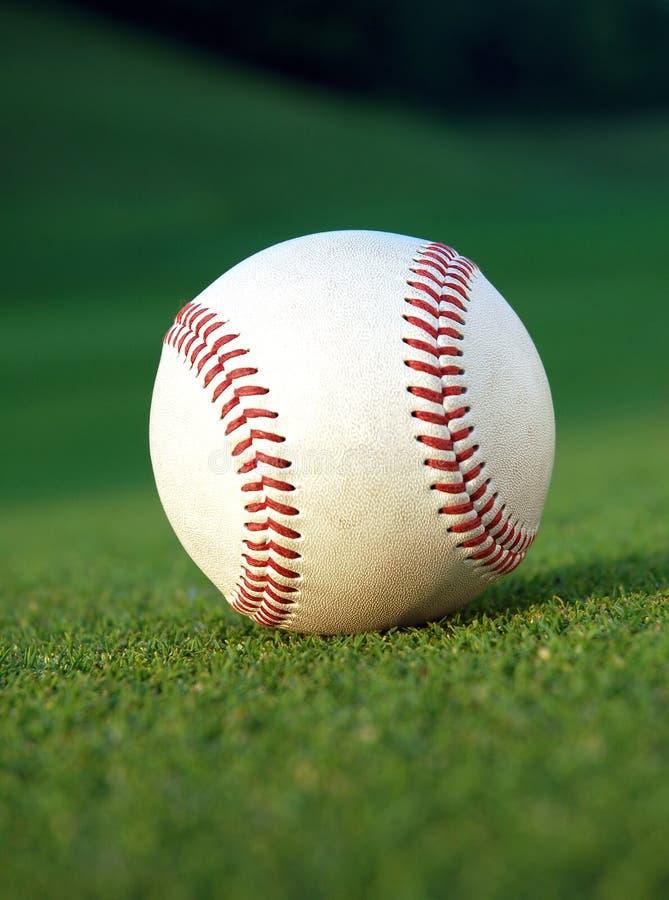 Béisbol en el campo fotos de archivo libres de regalías