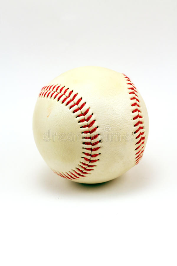 Béisbol usado fotografía de archivo libre de regalías