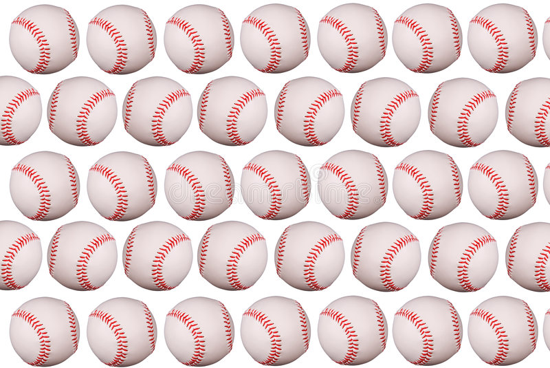 Béisboles imágenes de archivo libres de regalías
