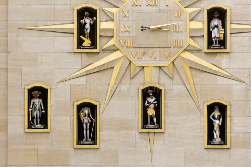 Bélgica, Bruselas, el carillón de los artes del DES de Mont foto de archivo libre de regalías