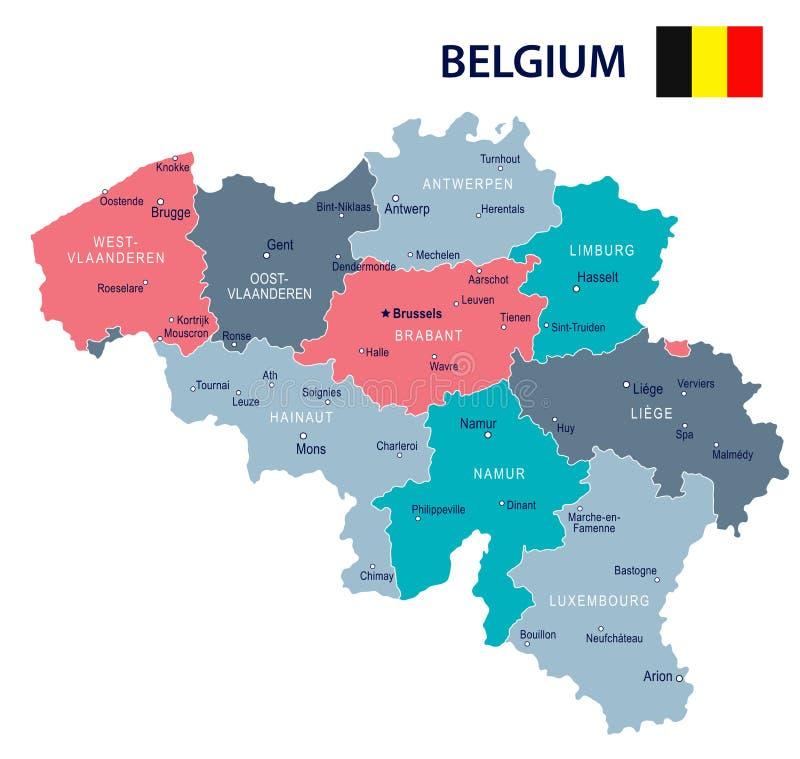 download blgica ejemplo del mapa y de la bandera stock de ilustracin ilustracin de