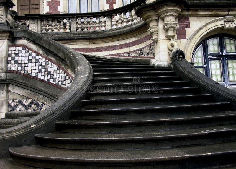 Bénédictine de Musee dans Fecamp France images stock