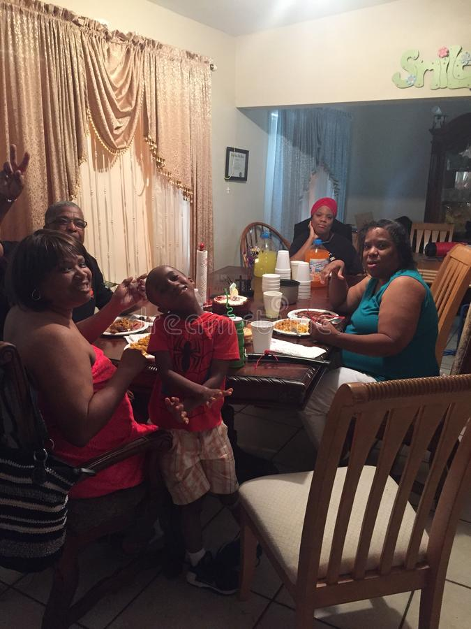 Bénédiction de famille photographie stock