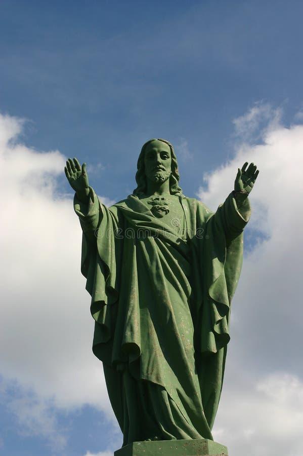 Bénédiction de Jésus image stock