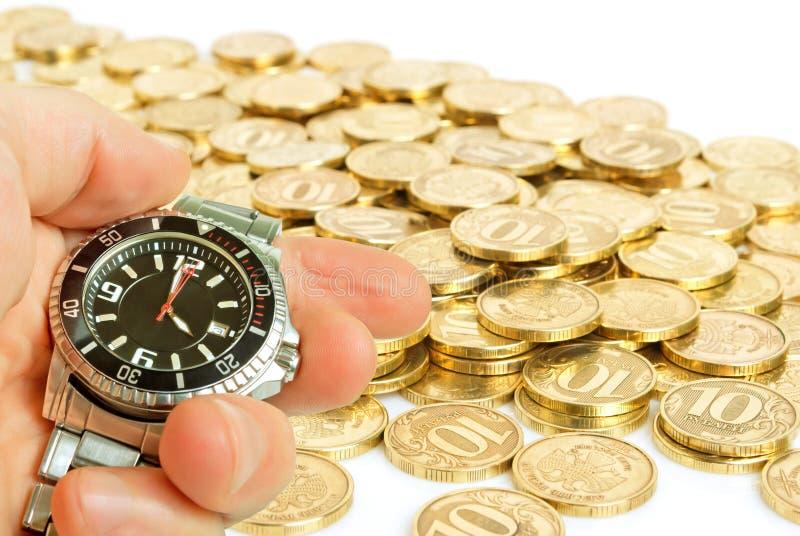 Bénéfice rapide. photographie stock