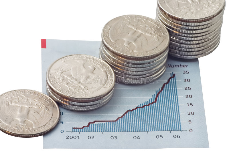 Download Bénéfices de montée image stock. Image du barre, bénéfice - 2142593