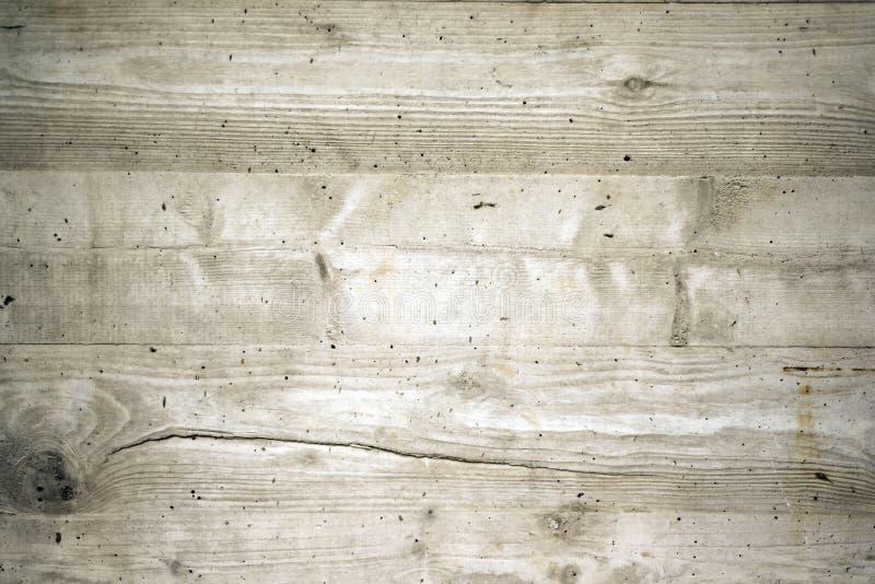 Béton exposé avec la texture en bois image stock