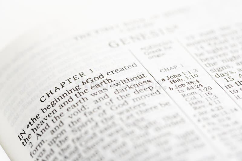 A Bíblia cristã. fotos de stock royalty free