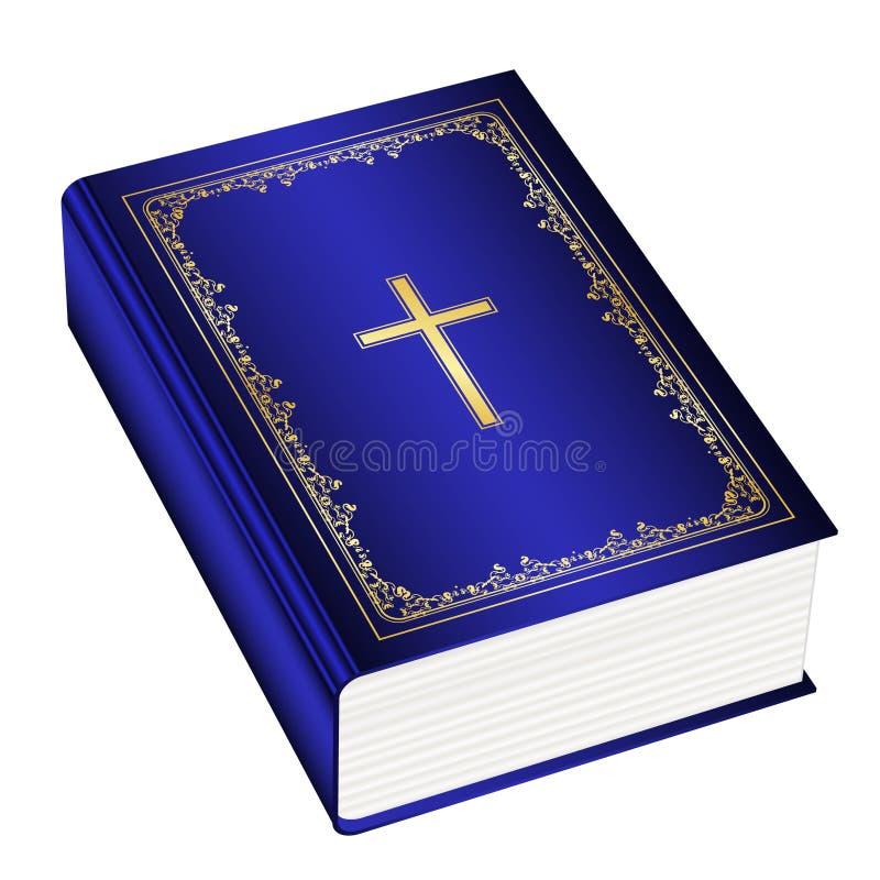 A Bíblia do azevinho ilustração do vetor