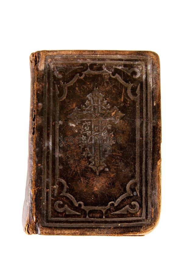 A Bíblia muito velha imagens de stock royalty free