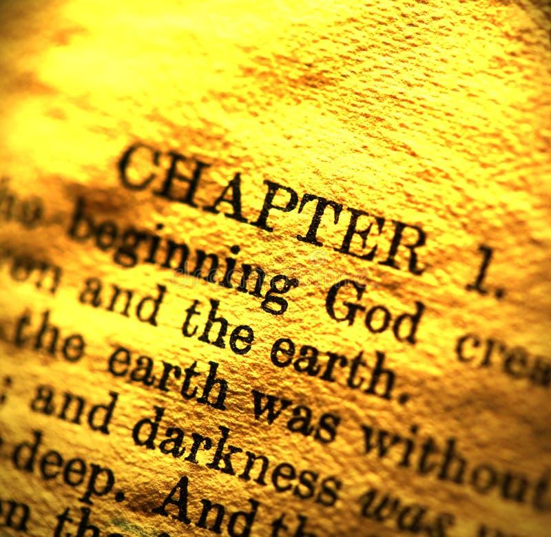 A Bíblia Sagrada foto de stock