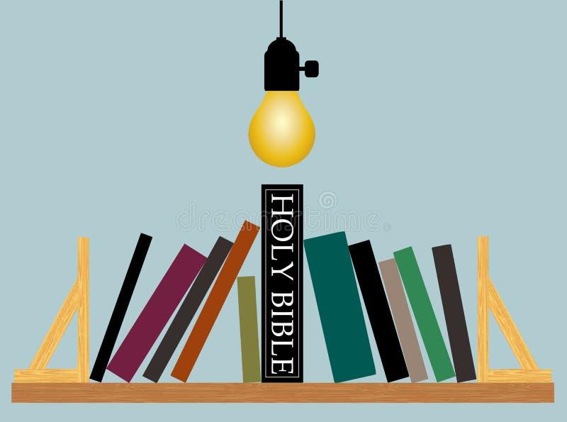 A Bíblia Sagrada - rei de todos os livros ilustração do vetor