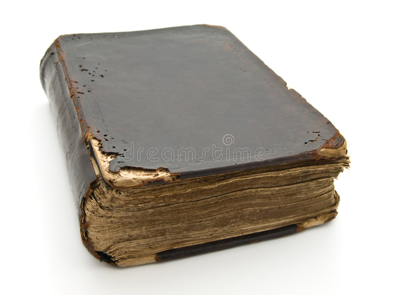 A Bíblia santamente velha imagens de stock royalty free