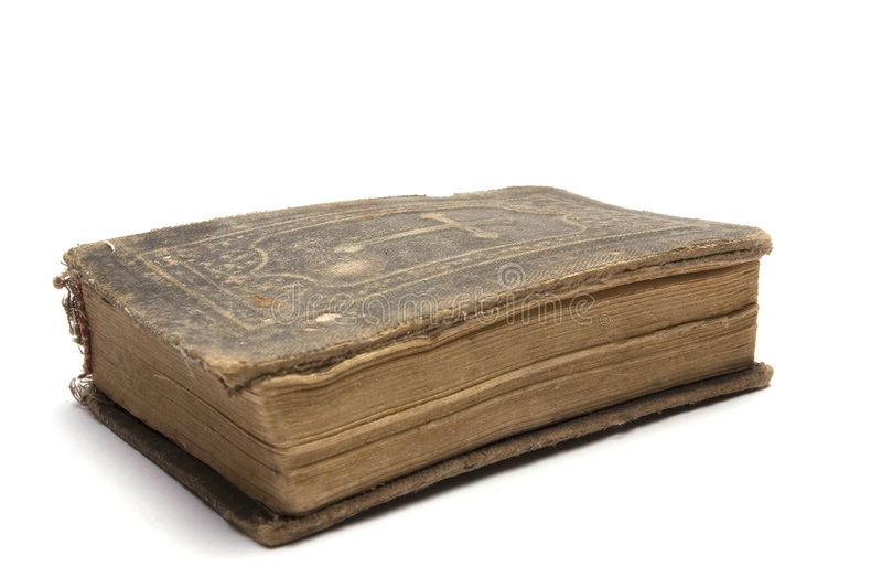A Bíblia velha foto de stock royalty free