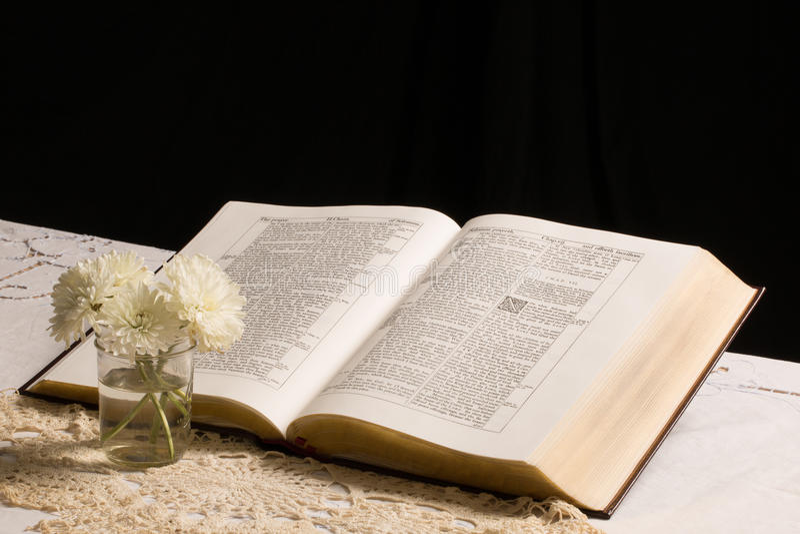 A Bíblia (vista 3) fotografia de stock royalty free