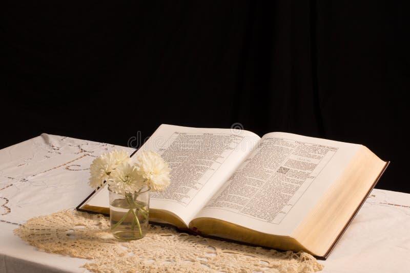 A Bíblia (vista 7) imagem de stock