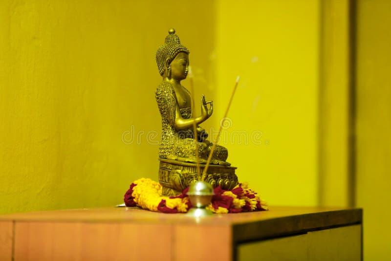Bóg Goutama Buddha zdjęcie royalty free
