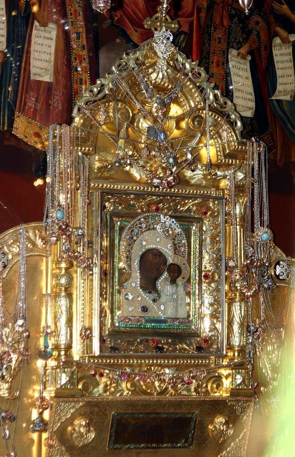bóg ikony Kazan matka obrazy stock