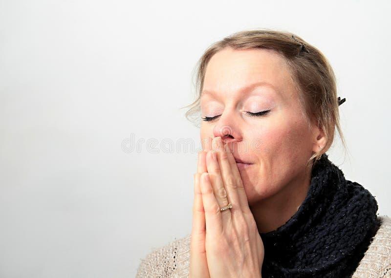 bóg ja target42_1_ kobieta obraz stock