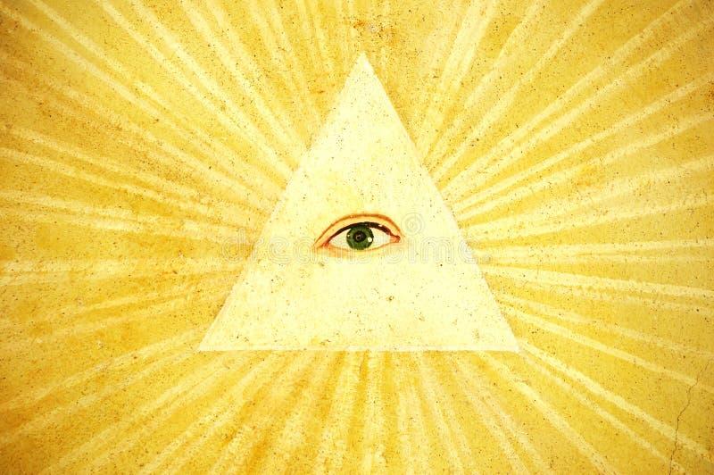 bóg jest oko obrazy royalty free