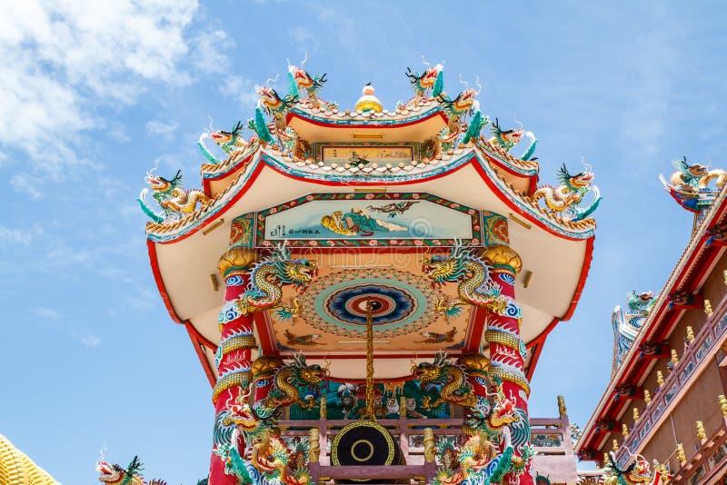 Bóg Naja chińczyka świątynia obrazy stock