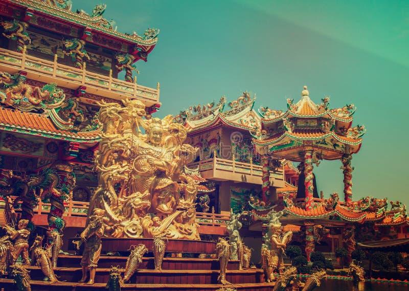 Bóg Naja chińczyka świątynia zdjęcia stock
